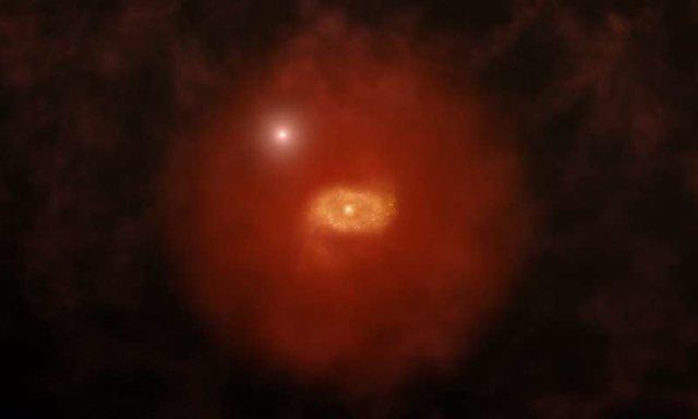 مشاهده نشانههایی از کهکشانی مشابه راه شیری؛