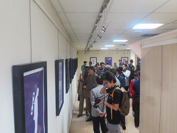 نمایشگاه گروهی پوستر ترامپیسم در نگارخانه بهمن افتتاح شد