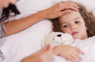 برخورد با تب در کودکان