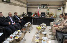 به مناسبت هفته نیروی انتظامی:دیدار مسئولین بانک سپه با فرماندهی مرکز آموزش مرزبانی محمد رسوال الله (ص) بیرجند