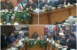 دیدارمسئولین شهرستان فردوس با مدیر کل فرهنگ وارشاد اسلامی استان