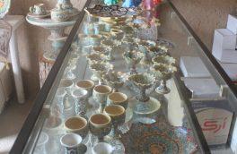 هنر میناکاری شهرستان سرایان در مسیر توسعه و ترویج