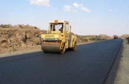 اتمام عملیات پروژه روکش آسفالت محور نهبندان – زابل (محدوده بندان) به طول ۱۵ کیلومتر