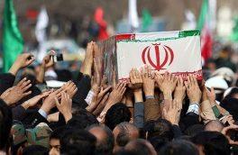 """پیکر شهید """"یوسفی"""" در بیرجند تشییع می شود"""