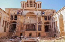 خانه تاریخی اسدی شهرستان بشرویه در دست مرمت است
