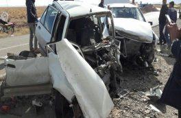 تصادف مرگبار پژو ۴۰۵ با سواری پراید ۴کشته و یک مجروح برجای گذاشت