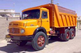 خاموشی موتور ۱۰ کامیون با گازوئیل آبکی