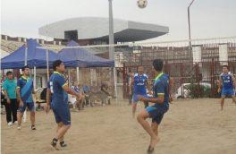 حضور پر رنگ هیات ورزش های روستایی و بازی های بومی محلی استان خراسان جنوبی در مسابقات فوتوالی کشور