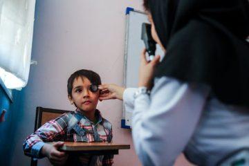 تعداد ۱۲۸۰۰ کودک ۳-۶ سال در شش ماهه اول سال در طرح غربالگری چشم قرار گرفتند