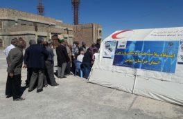 تست فشار و قند خون توسط هیات پزشکی ورزشی استان به مناسبت هفته ورزش