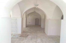 مسجد جامع روستای پخت شهرستان سربیشه مرمت شد
