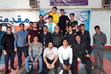 اولین دوره مسابقات المپیاد نخبگان وزنه برداری استان در قاین برگزار شد