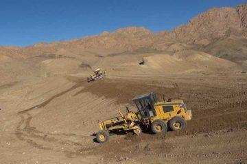 بزرگترین سازه آبخیز داری شرق کشور در روستای آرک بیناباد شهرستان خوسف در دهه فجر به بهره برداری می رسد