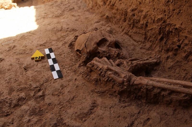 گورستان باستانی در سرایان کشف شد