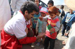 ششمین کاروان سلامت جمعیت هلال احمر خراسان جنوبی به روستاهای ذکری و گل نی از توابع درمیان اعزام شدند