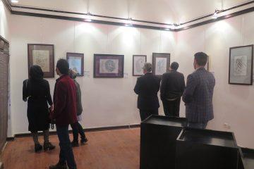 رقص قلم در نمایشگاه نسیم نوروز