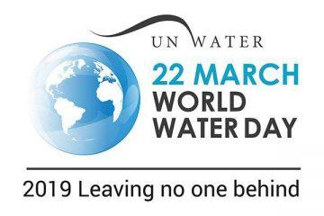 روز جهانی آب با شعار : هیچ کس را پشت سر نگذار