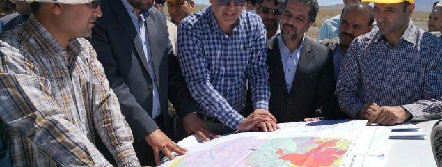 معدن کارخانه فرآوری طلای هیرد شهرستان نهبندان پتانسیل بی بدیل در منطقه