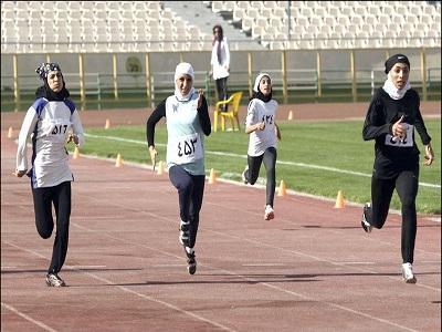 رقابت دوومیدانی کاران خراسان جنوبی در مسابقات قهرمانی کشور