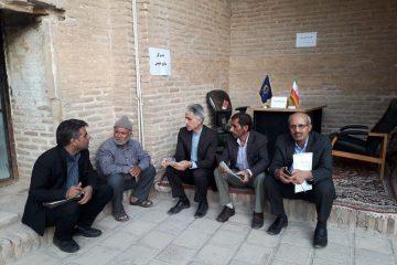 گفتگو مدیر کل و معاونین منابع طبیعی استان با مردم قاین برای حل مشکلات این حوزه