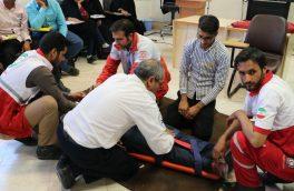 شرکت ۳۰ نفر از داوطلبان جمعیت هلال احمر در دوره تربیت مربی امداد