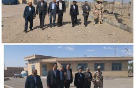 امینیان سفیر جدید ایران در افغانستان از بازارچه مرزی دوکوهانه نهبندان بازدید کرد