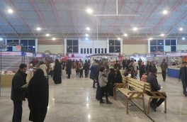 فروش ۴۵۰ میلیون تومان کتاب در سه روز اول سیزدهمین نمایشگاه کتاب استان خراسان جنوبی