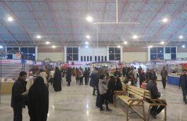 سیزدهمین نمایشگاه کتاب استان خراسان جنوبی  با استقبال بالای مردم رو به رو شد