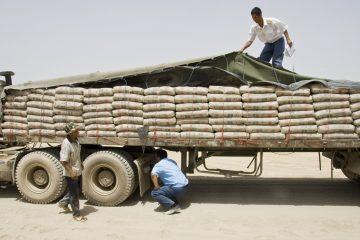 صادرات ۴۷۰هزار تُن سیمان به افغانستان از خراسان جنوبی
