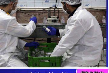 تولید محلول ضدعفونی کننده دست در خراسان جنوبی آغاز شد