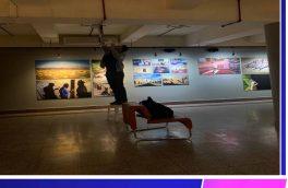 حضور رضا خالدی هنرمند بیرجندی  با نمایشگا عکس دوتوک در جشنواره بین اللملی فجر