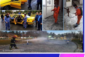 شهرداری بیرجند در تلاش برای مقابله با کرونا