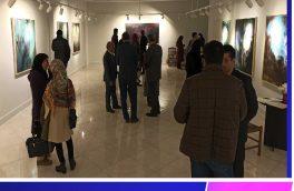 افتتاح نمایشگاه «با خش خشی مضاعف» در نگارخانه استاد اسماعیلی مود بیرجند