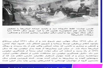 ۷۷ سال پیش تیفوس در نوروز در ایران امسال کرونا ویروس ،مردم در خانه ماندند