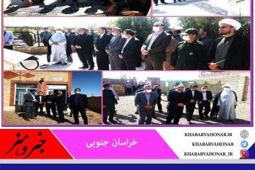 حضور  جمالی نژاد معاون عمرانی وزیر کشور و رئیس سازمان شهرداریها ودهیاری های کشور در خراسان جنوبی