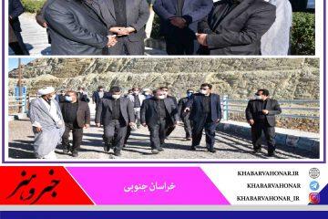 شوسف نهبندان در ادامه سفر یک روزه در هفته دولت مورد بازدید استاندار خراسان جنوبی قرار گرفت