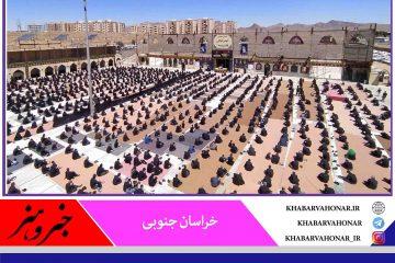 شکوه ارادت در عزاداری دلدادگان حسینی خراسان جنوبی با  نظم و رعایت پروتکل بهداشتی