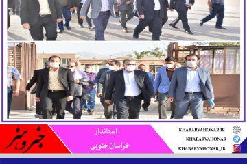 استاندار خراسانجنوبی تأکید کرد: همراهی دستگاه ها برای توسعه زیرساخت های شهری در ماژان
