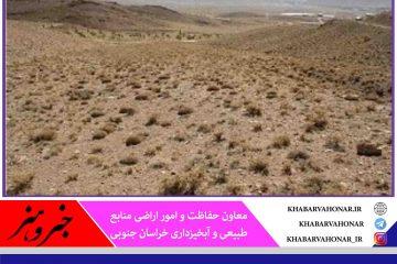 ۱۶۰ هزار هکتار از اراضی ملی خراسان جنوبی حدنگاری شد