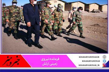 فرمانده نیروی زمینی ارتش: مرزهای شرقی ایران از امنیت پایدار برخوردار است