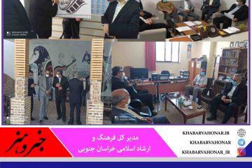 قرار گرفتن همه زیر ساخت ها کنار یکدیگر چرخه پیشرفت  فرهنگی و هنری استان را تکمیل می کند