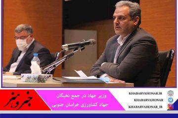 خراسان جنوبی به صنایع تبدیلی و تکمیلی کشاورزی نیاز دارد ،کمک میکنیم تا این صنایع فعالیت کنند