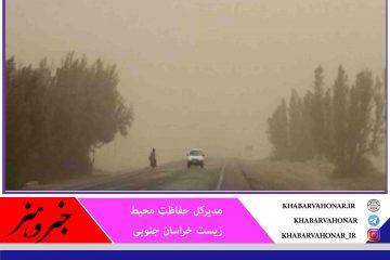 خسارت سالانه ۵۰۵ میلیارد تومانی گرد و غبار به خراسان جنوبی