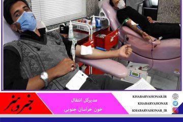 اهدای ۵۴ واحد خون در روز اربعین در شهرستان های بیرجند و طبس