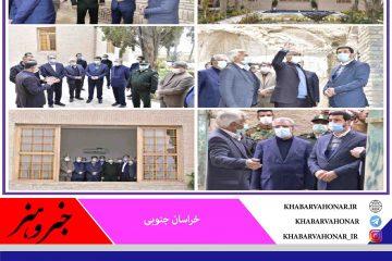 خانه شریف در شهر بیرجند اولین مقصد بازدید گردشگری  ملانوری استاندار خراسان جنوبی در جمعه زمستانی