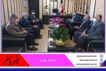 رفع مشکلات شهرستان با هم افزایی و همکاری همگان درشهرستان خوسف