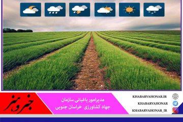 توصیههای جهادکشاورزی به کشاورزان در خصوص کاهش دما