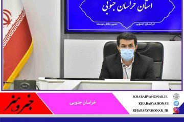ملانوری استاندار خراسان جنوبی چراغ جشن گلریزان در استان را روشن کرد