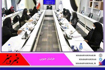 شورای مشورتی در حوزه بانوان خراسان جنوبی تشکیل شد