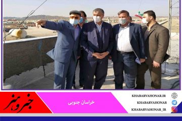 وزیر راه و شهرسازی از پایانه مرزی ماهیرود بازدید کرد